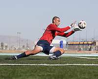 Earl Edwards training. 2009 CONCACAF Under-17 Championship From April 21-May 2 in Tijuana, Mexico