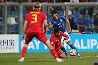 Federico Chiesa of Italy compete for the ball<br /> Reggio Emilia 22-06-2019 Stadio Città del Tricolore <br /> Football UEFA Under 21 Championship Italy 2019<br /> Group Stage - Final Tournament Group A<br /> Belgium - Italy<br /> Photo Cesare Purini / Insidefoto