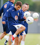 Shaun Maloney at Scotland training