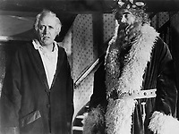 Scrooge (1951)<br /> (A Christmas Carol)<br /> Alastair Sim &amp; Francis De Wolff<br /> *Filmstill - Editorial Use Only*<br /> CAP/KFS<br /> Image supplied by Capital Pictures