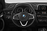 Car pictures of steering wheel view of a 2018 BMW X2 Base 5 Door SUV