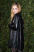 Ellie Bamber arriving for the 2018 Charles Finch &amp; CHANEL Pre-Bafta party, Mark's Club Mayfair, London, UK. <br /> 17 February  2018<br /> Picture: Steve Vas/Featureflash/SilverHub 0208 004 5359 sales@silverhubmedia.com