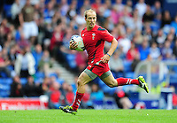 Wales's Lee Williams scores his sides third try <br /> <br /> Kenya Vs Wales - men's placing 5-8 match<br /> <br /> Photographer Chris Vaughan/CameraSport<br /> <br /> 20th Commonwealth Games - Day 4 - Sunday 27th July 2014 - Rugby Sevens - Ibrox Stadium - Glasgow - UK<br /> <br /> © CameraSport - 43 Linden Ave. Countesthorpe. Leicester. England. LE8 5PG - Tel: +44 (0) 116 277 4147 - admin@camerasport.com - www.camerasport.com