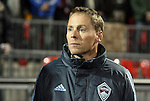 21 November 2010: Colorado assistant coach Steve Guppy (ENG). The Colorado Rapids defeated FC Dallas 2-1 in overtime at BMO Field in Toronto, Ontario, Canada in MLS Cup 2010, Major League Soccer's championship game.