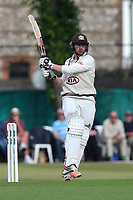 Mark Stoneman hits out for Surrey during Surrey CCC vs Essex CCC, Specsavers County Championship Division 1 Cricket at Guildford CC, The Sports Ground on 9th June 2017