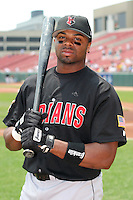 Indianapolis Indians Rajai Davis during an International League game at Dunn Tire Park on June 18, 2006 in Buffalo, New York.  (Mike Janes/Four Seam Images)