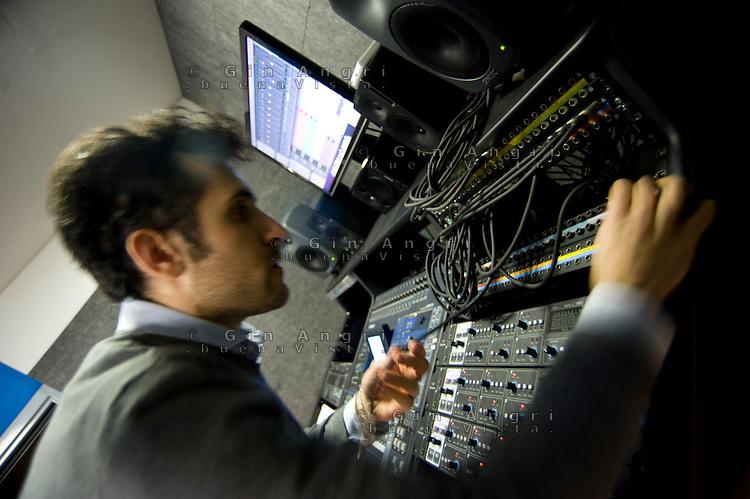 politecnico di Como, laboratoiro di sound and music engineering, Laboratorio acustica musicale