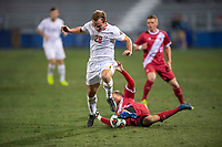 Santa Barbara, CA - Friday, December 7, 2018:  Maryland men's soccer defeated Indiana 2-0 in a semi-final match in the 2018 College Cup.  Chase Gasper.