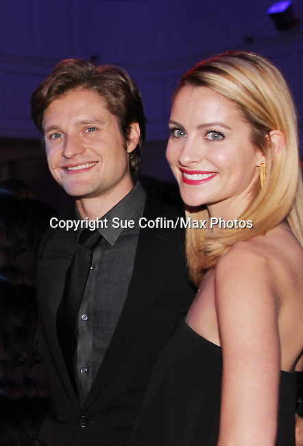 Charlie & Tanith White - The 11th Annual Skating with the Stars Gala - a benefit gala for Figure Skating in Harlem - honoring Cicely Tyson (film, tv and stage actress and was on The Guiding Lignt) and Meryl Davis & Charlie White (Olympic Ice Dance Champions and Meryl winner on Dancing with the Stars) and hosted by Mary Wilson of the Supremes on April 11, 2016 on Park Avenue in New York City, New York with many Olympic Skaters and Celebrities. (Photo by Sue Coflin/Max Photos)