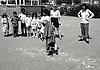 Raleigh primary school playground, Nottingham UK 1992