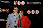 """Jamison M. Cascio (producer) and As The World Turns' Colleen Zenk at the screening of her film """"Libby"""" on June 21, 2014 at the 8h Annual Manhattan Film Festival at the Quad Cinema, New York City, New York. """"Libby (Colleen Zenk) is a wealthy widow of a successful business man. She struggles with her loneliness and with her leg, which is to be operated on, only a few days after our story takes place. Libby has decided to go on a series of dates with men on an online dating."""" """"Libby"""" will again be screened at NewFilmmakers New York on July 23rd where it will be anthologized.  (Photos by Sue Coflin/Max Photos)"""