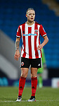 Naomi Hartley of Sheffield Utd during the The FA Women's Championship match at the Proact Stadium, Chesterfield. Picture date: 8th December 2019. Picture credit should read: Simon Bellis/Sportimage