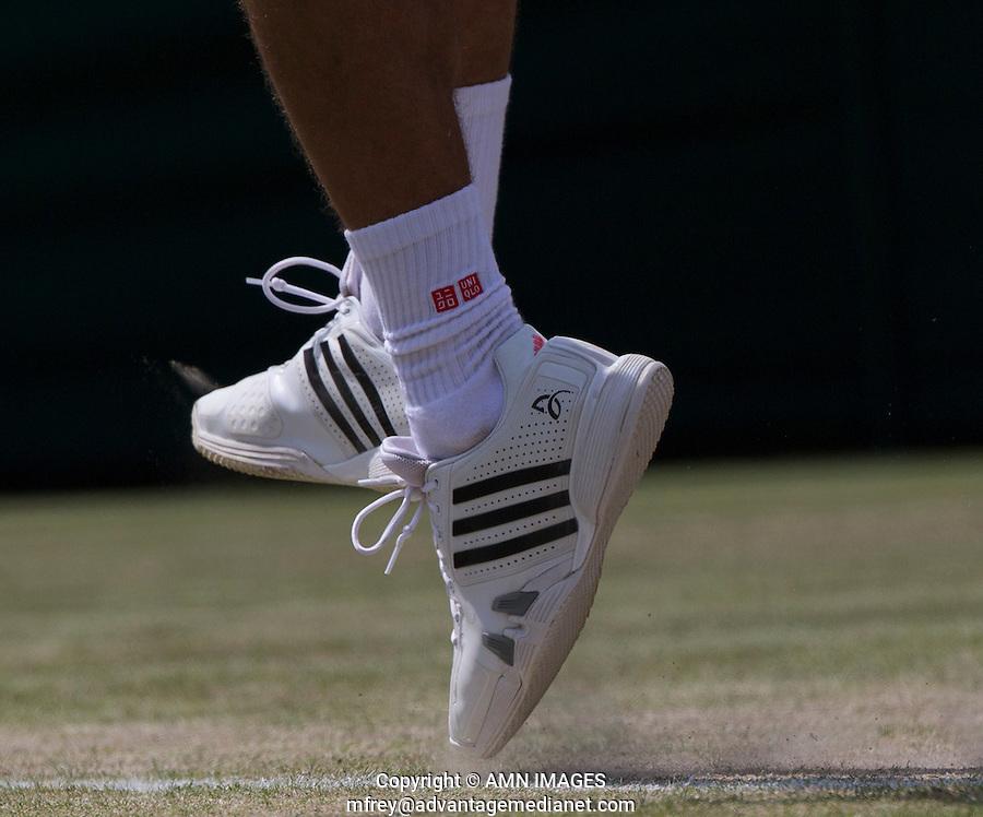 NOVAK DJOKOVIC  (SRB)<br /> <br /> The Championships Wimbledon 2014 - The All England Lawn Tennis Club -  London - UK -  ATP - ITF - WTA-2014  - Grand Slam - Great Britain -  2nd July 2014. <br /> <br /> &copy; AMN IMAGES