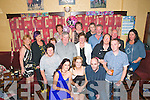 3oth Birthday: Mairead O'Connell, Moyvane, centre front celebrating her 30th birthday with family & friends at Speedies, Bar, Moyvane on Saturday night last.