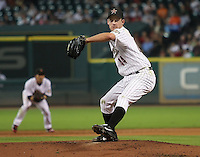 Houston Astros Pitcher Roy Oswalt on Thursday May 22nd at Minute Maid Park in Houston, Texas. Photo by Andrew Woolley / Four Seam Images.