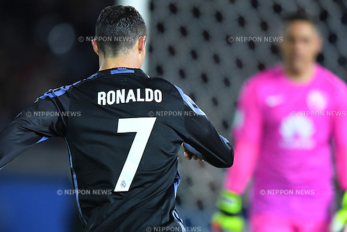 Cristiano Ronaldo (Real), <br /> DECEMBER 15, 2016 - Football / Soccer : <br /> FIFA Club World Cup Japan 2016 Semi Final match between <br /> Club America 0-2 Real Madrid <br /> at Yokohama International Stadium, Kanagawa, Japan. <br /> (Photo by AFLO SPORT)