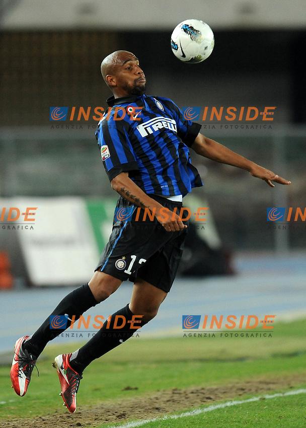 "MAICON  (Inter).Verona 09/03/2012 Stadio ""Bentegodi"".Serie A 2011/2012.Football Calcio Chievo Verona Vs Inter.Foto Insidefoto Alessandro Sabattini."