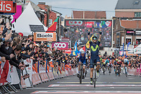 Alejandro Valverde (ESP/Movistar team) wins his 4th 'Doyenne'<br /> <br /> 103rd Liège-Bastogne-Liège 2017 (1.UWT)<br /> One Day Race: Liège › Ans (258km)