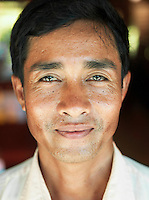 A local guide in Siem Reap Province, Cambodia