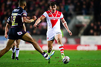 Picture by Alex Whitehead/SWpix.com - 16/03/2018 - Rugby League - Betfred Super League - St Helens v Leeds Rhinos - Totally Wicked Stadium, St Helens, England - St Helens' Jon Wilkin.