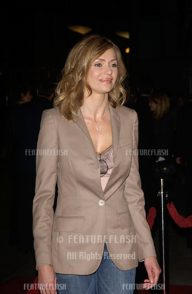 Actress VANESSA ANGEL at the world premiere, in Hollywood, of her new movie The Perfect Score..January 27, 2004