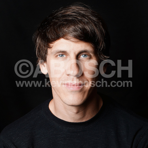 Portrait of Dennis Crowley ( Founder of FourSquare ) photographed by Kevin Abosch