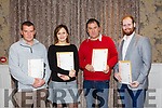 At the Kerry ETB  Graduations in the rose Hotel on Thursday were CAD 3D students l-r Bernard Forde, Agata Osiecka, Anthony Lynch and James Keane