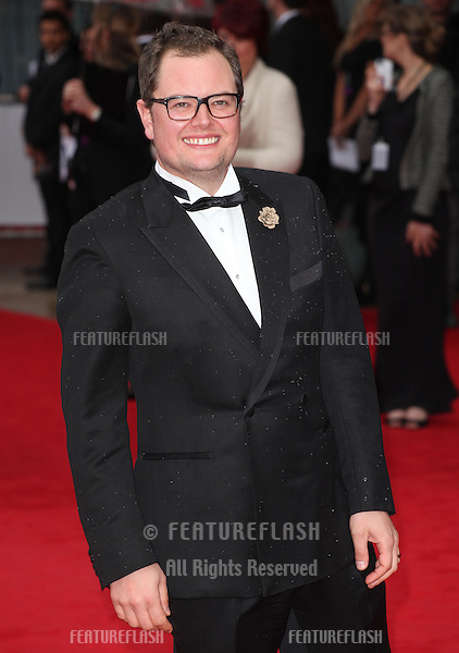 Alan Carr arriving for the TV BAFTA Awards 2013, Royal Festival Hall, London. 12/05/2013 Picture by: Alexandra Glen / Featureflash