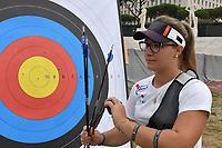 Vanessa Landi <br /> Roma 01-09-2017 Stadio dei Marmi <br /> Roma 2017 Hyundai Archery World Cup Final <br /> Finale Coppa del mondo tiro con l'arco <br /> Foto Andrea Staccioli Insidefoto/Fitarco