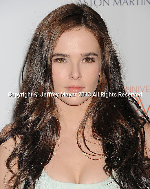 CENTURY CITY, CA- MAY 03: Actress Zoey Deutch arrives at the 20th Annual Race To Erase MS Gala 'Love To Erase MS' at the Hyatt Regency Century Plaza on May 3, 2013 in Century City, California.
