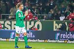 01.12.2018, Weser Stadion, Bremen, GER, 1.FBL, Werder Bremen vs FC Bayern Muenchen, <br /> <br /> DFL REGULATIONS PROHIBIT ANY USE OF PHOTOGRAPHS AS IMAGE SEQUENCES AND/OR QUASI-VIDEO.<br /> <br />  im Bild<br /> entt&auml;uscht / enttaeuscht / traurig / Niederlage<br /> Sebastian Langkamp (Werder Bremen #15)<br /> <br /> <br /> Foto &copy; nordphoto / Kokenge