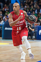 Montakit Fuenlabrada Gregory Vargas during Liga Endesa match between Movistar Estudiantes and Montakit Fuenlabrada at Wizink Center in Madrid, Spain. November 12, 2017. (ALTERPHOTOS/Borja B.Hojas) /NortePhoto.com