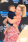 LOS ANGELES - JUN 17: Melissa Joan Hart, son Tucker at The World Premiere for 'Monsters University' at the El Capitan Theater on June 17, 2013 in Los Angeles, California