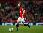 Juan Mata of Manchester United during the Carabao Cup Third Round match at the Old Trafford Stadium, Manchester. Picture date 20th September 2017. Picture credit should read: Simon Bellis/Sportimage