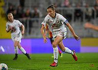 20191102 - LENS , FRANCE : LOSC's Carla Polito pictured during the female soccer match between Arras Feminin and Lille OSC feminin, on the 8th matchday in the French Women's Ligue 2 – D2 at the Stade Bollaert Delelis stadium , Lens . Saturday 2 November 2019 PHOTO DAVID CATRY | SPORTPIX.BE