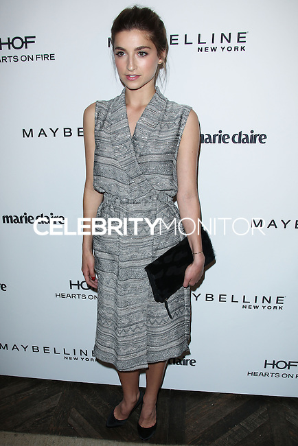 WEST HOLLYWOOD, CA, USA - APRIL 08: Ava Deluca-Verley at the Marie Claire Fresh Faces Party Celebrating May Cover Stars held at Soho House on April 8, 2014 in West Hollywood, California, United States. (Photo by Celebrity Monitor)
