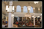 Interior of Union Station, Denver.<br />