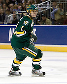 Drew MacKenzie (Vermont - 2) - The University of Vermont Catamounts defeated the Yale University Bulldogs 4-1 in their NCAA East Regional Semi-Final match on Friday, March 27, 2009, at the Bridgeport Arena at Harbor Yard in Bridgeport, Connecticut.
