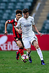 Auckland City Midfielder Fabrizio Tavano (r) in action during the 2017 Lunar New Year Cup match between Auckland City FC (NZL) vs FC Seoul (KOR) on January 28, 2017 in Hong Kong, Hong Kong. Photo by Marcio Rodrigo Machado/Power Sport Images