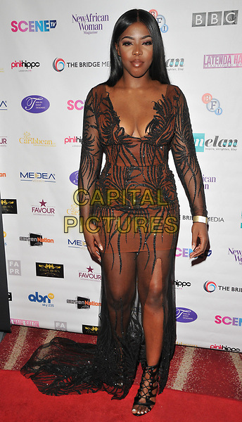 Grace Ajilore at the 12th Annual Screen Nation Film &amp; Television Awards 2017, Park Plaza Riverbank Hotel, Albert Embankment, London, England, UK, on Sunday 07 May 2017.<br /> CAP/CAN<br /> &copy;CAN/Capital Pictures