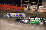 Feb 15, 2014; 9:06:30 PM; Gibsonton, FL., USA; The Lucas Oil Dirt Late Model Racing Series running The 38th Aannual WinterNationals at East Bay Raceway Park.  Mandatory Credit: (thesportswire.net)