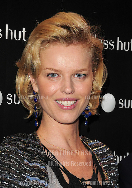 Eva Herzigova attending the launch party for the new Sunglasses Hut Store on Oxford Street, London. 29/04/2010  Picture by: Alexandra Glen / Featureflash