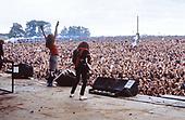 Aug 21, 1982: SAXON - Monsters of Rock Castle Donington - Images |  IconicPix Music Archive
