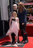 Barbara Bain + daughter Susan + grand daughter Aria @ Walk of Fame ceremony held @ 6767 Hollywood blvd.<br /> April 28, 2016