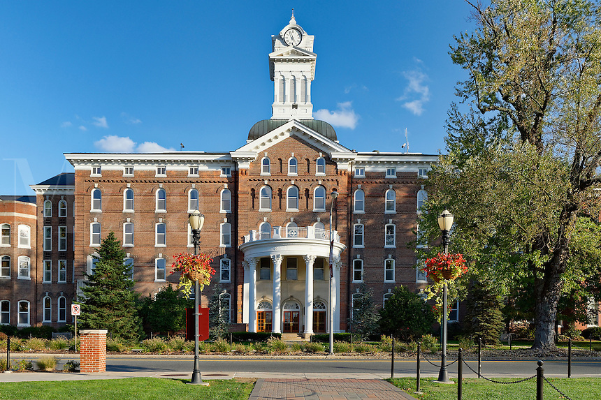 Old Main, Kutztown University campus, Kutztown, Pennsylvania, USA