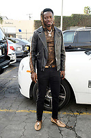 LOS ANGELES, CA - JANUARY 9: Comedian Michael Blackson seen in the parking lot of the Wild Card Boxing Club in Los Angeles, California on January 9, 2019. <br /> CAP/MPI/DAM<br /> &copy;DAM/MPI/Capital Pictures