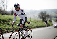 Heinrich Haussler (AUS/IAM) on the Kanarieberg<br /> <br /> De Ronde van Vlaanderen 2016 recon with Team IAM
