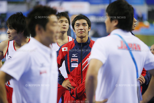 Kenzo Shirai (JPN), OCTOBER 7, 2014 - Artistic Gymnastics : 2014 World Artistic Gymnastics Championships <br /> Men's Team Final at the Guangxi Gymnasium in Nanning, China. (Photo by Yusuke Nakanishi/AFLO SPORT)