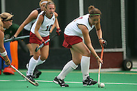 STANFORD, CA - AUGUST 19:  Bailey Richardson of the Stanford Cardinal during Stanford's 4-1 exhibition win over the University of the Pacific on August 19, 2008 at the Varsity Field Turf in Stanford, California.