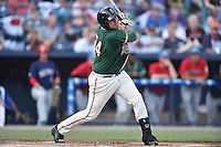 Greensboro Grasshoppers catcher Arturo Rodriguez (54) swings at a pitch during the South Atlantic League All Star Game on June 23, 2015 in Asheville, North Carolina. The North Division defeated the South 7-5(Tony Farlow/Four Seam Images)